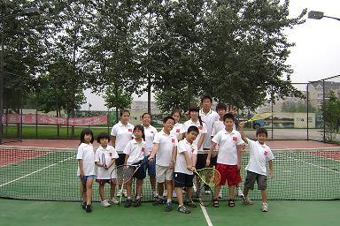 石景山儿童网球培训班