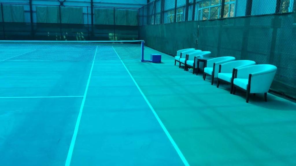 首钢园区网球场