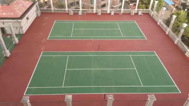中海雅园网球场